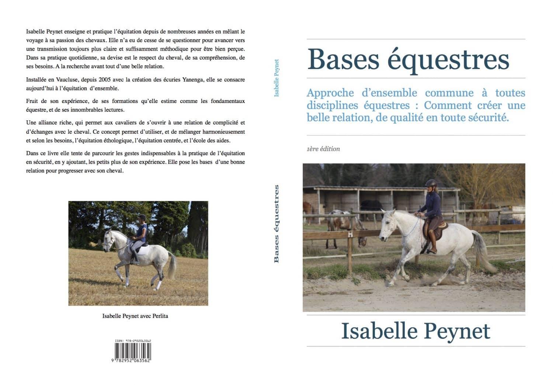 """Équitation d'ensemble - Isabelle Peynet - Livre """"bases équestres"""""""