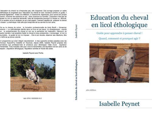 Livre «Education du cheval en licol éthologique»