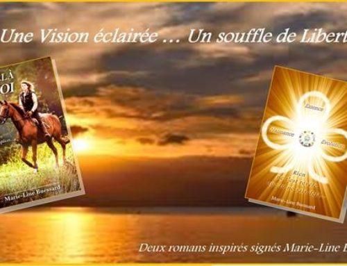 Deux romans inspirés de Marie-Line Buessard, créatrice de la marque Charles de Nevel.